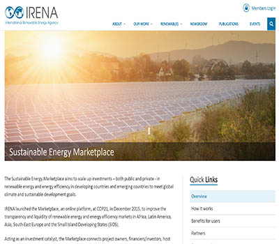 Sustainable Energy Marketplace