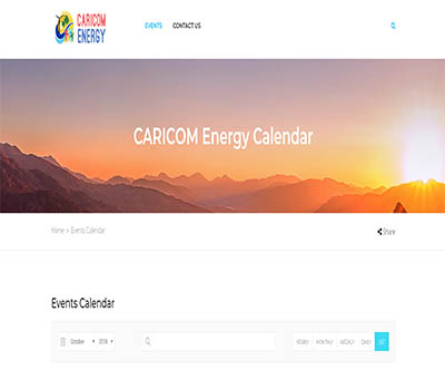 CARICOM Energy events