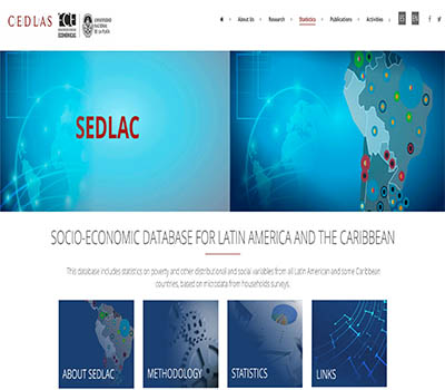 SEDLAC - Socio-Economic Database for Latin America and the Caribbean