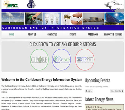 Caribbean Energy Information System CEIS (and SUBPLATFORMS!)