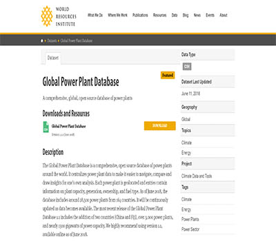 Global Power Plant Database